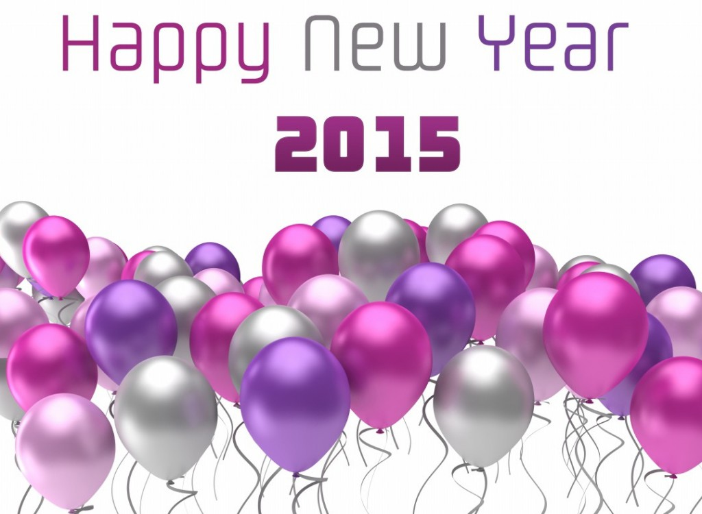 Happy-New-Year-2015-flying-colorful-balloons