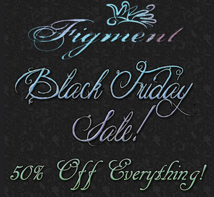 figment black friday