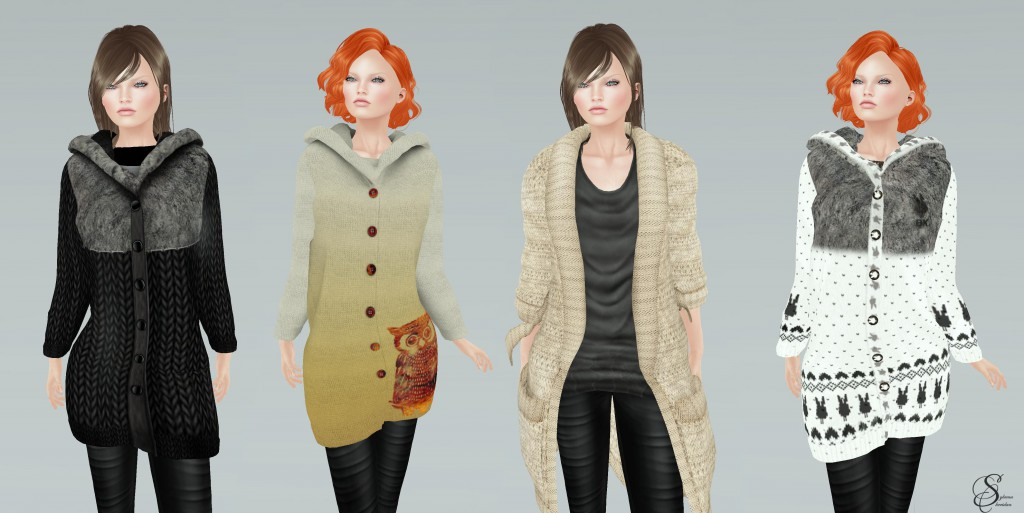 winter accessories coats & cardigans_2 to finish