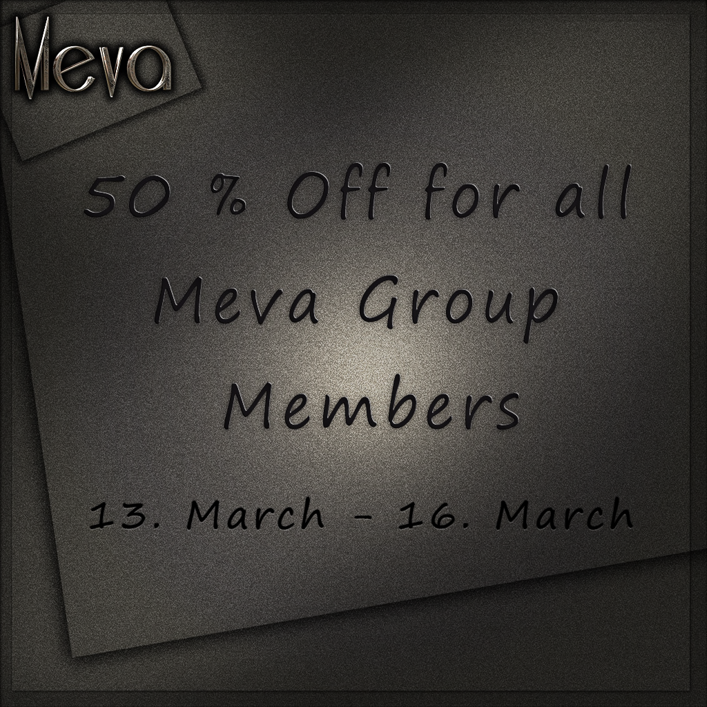 Meva 50 Prozent off March 2016