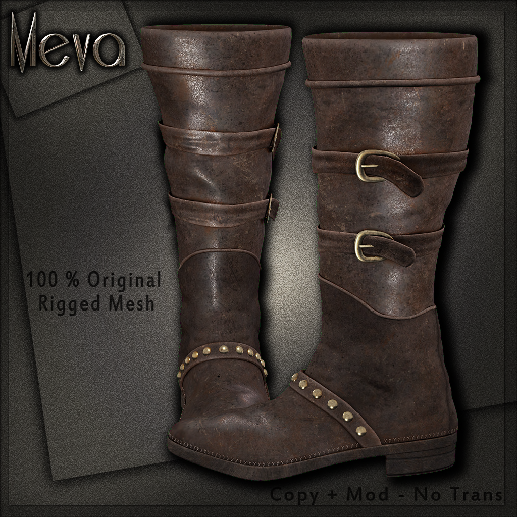 Meva Alkova Boots Brown Vendor