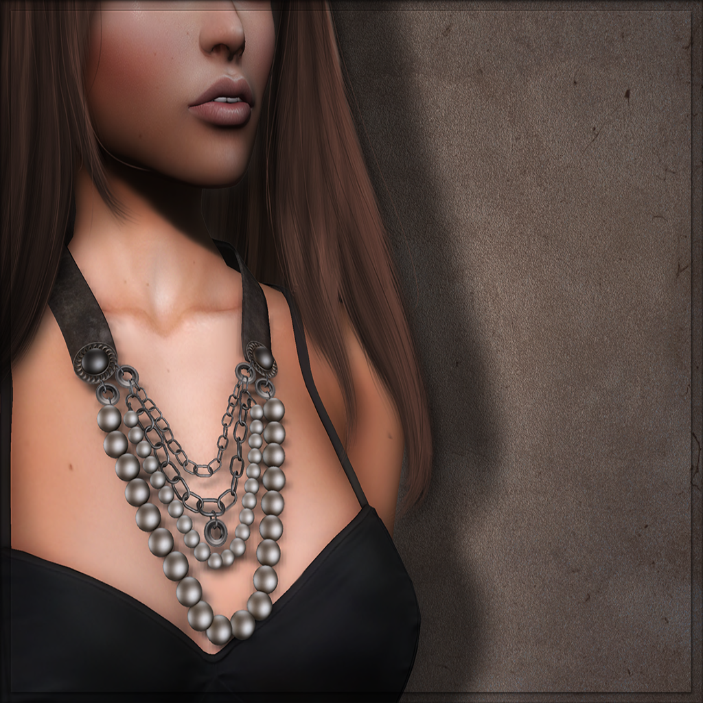 Meva Vintage Necklace Ad Pic