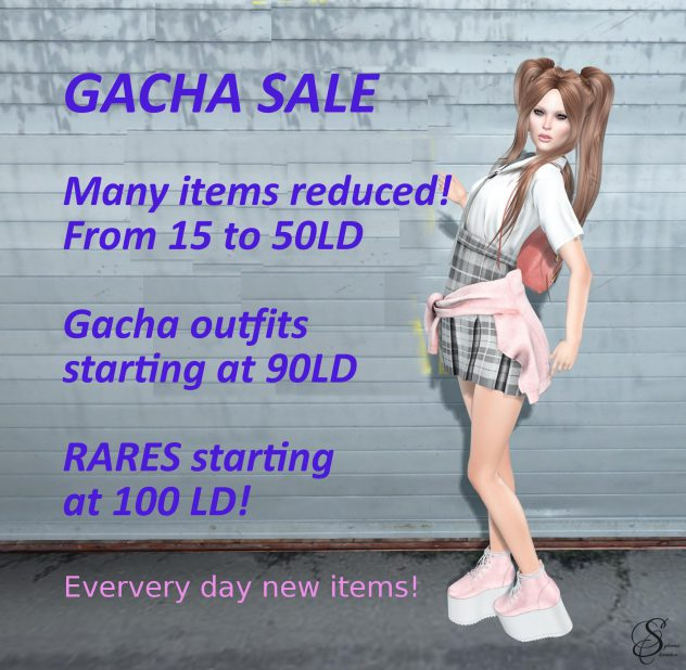 New gachas for sale!