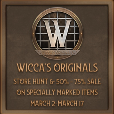 Sale @ Wicca's Originals